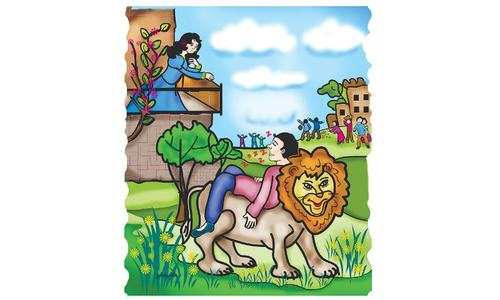 Story Time: The lion rider