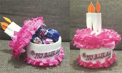 Wonder Craft: Surprise cake