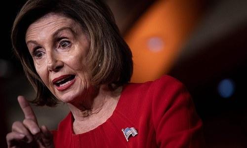 Pelosi says Trump's Ukraine actions amount to 'bribery'
