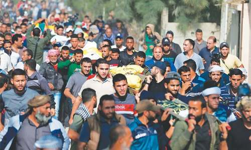 Tenuous truce takes hold in Gaza; death toll reaches 34
