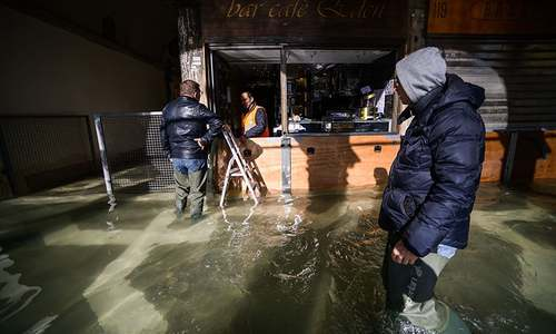 Emergency declared in Venice after abnormal tides