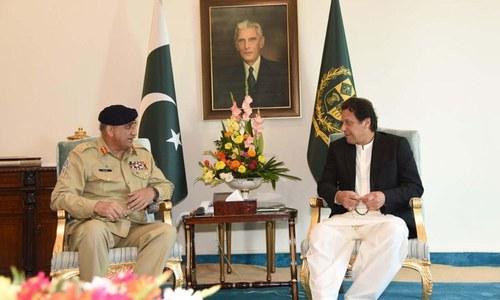 وزیر اعظم سے آرمی چیف کی ملاقات، مختلف امور پر تبادلہ خیال