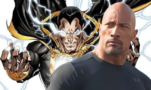 راک کو بھی اپنا خود کا 'سپر ہیرو' مل گیا