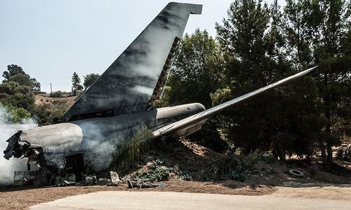 بھارتی بحریہ کا لڑاکا طیارہ گر کر تباہ