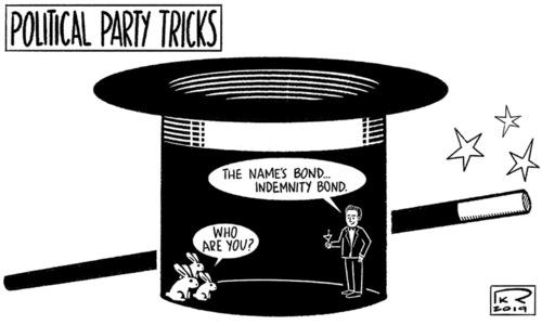 Cartoon: 17 November, 2019
