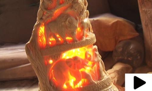 جانوروں کی ہڈیوں سے بنے حیران کردینے والے فن پارے