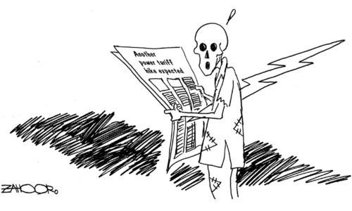 Cartoon: 18 November, 2019