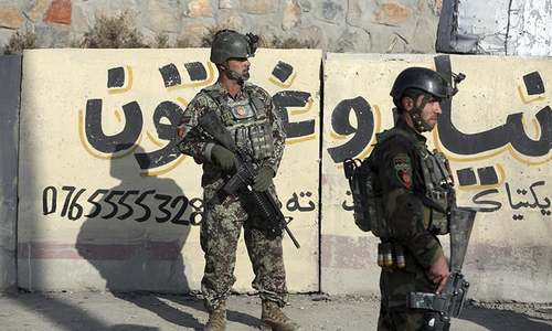 At least 4 wounded as back-to-back blasts hit Afghan capital