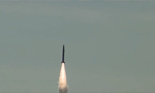 Pakistan successfully conducts training launch of surface-to-surface ballistic missile Shaheen-I