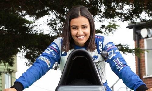 سعودی عرب کی پہلی فارمولا ای کار ریس ڈرائیور خاتون