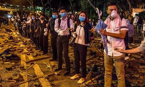 برطانیہ، امریکا اور دیگر ممالک ہانگ کانگ میں مداخلت بند کریں، چین