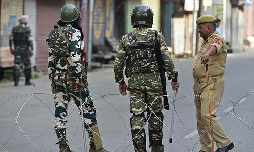 Indian repression fuelling militancy in held Kashmir, warns HR watchdog