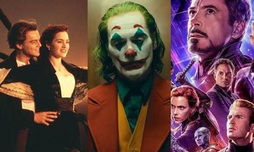 ایک ارب ڈالرز سے زائد کمانے والی 44 فلمیں