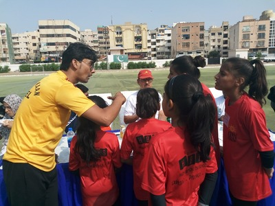 Karachi's young gymnasts showcase talent at all-female championship