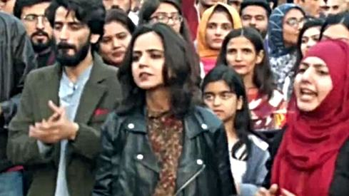 People have a problem with this student activist because she's wearing a leather jacket