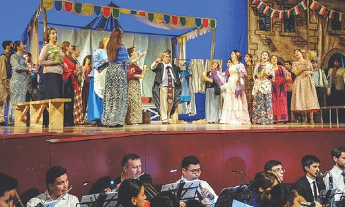 Turkmenistan stages first opera after 19-year ban