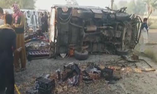 پنجاب: مختلف حادثات میں 23 افراد ہلاک، 50 زخمی
