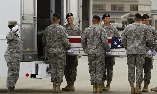 افغانستان میں ہیلی کاپٹر گر کر تباہ، 2 امریکی فوجی ہلاک