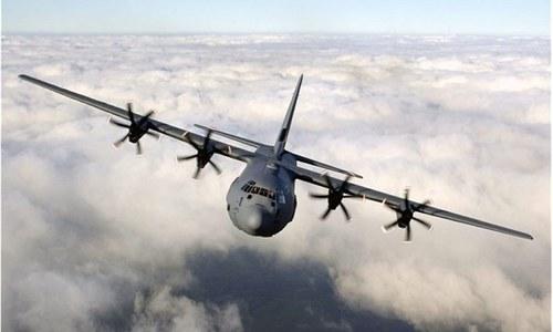 امریکی طیارہ بغیر اجازت پاکستانی فضائی حدود میں داخل، وارننگ پر واپس