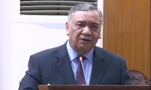Govt itself allowed Nawaz to travel abroad, CJP Khosa says