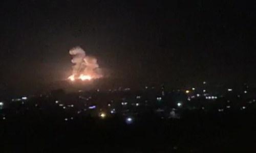 شام میں اسرائیل کے فضائی حملے، 23 افراد ہلاک