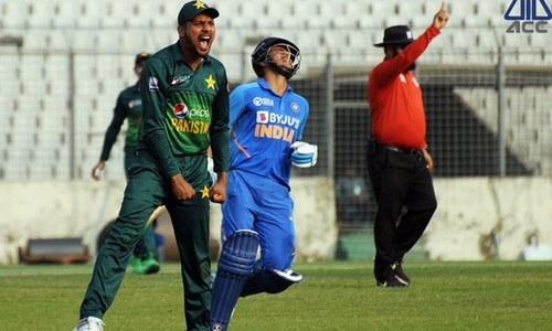 ایمرجنگ ایشیا کپ: سیمی فائنل میں پاکستان نے بھارت کو شکست دے دی