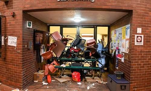 Hong Kong campus stalemate persists as US bill sets up China clash