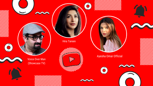 YouTube channels are the new side hustle of choice for Pakistani celebrities