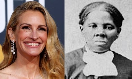 Julia Roberts once floated to play African-American slavery hero Harriet Tubman in biopic