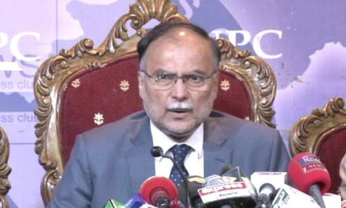 Nation wants to know who funded PTI from India, Middle East, US: Ahsan Iqbal