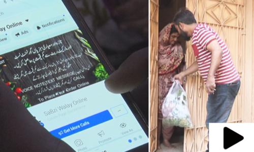 کراچی میں سبزیوں کی آن لائن فروخت شروع ہوگئی