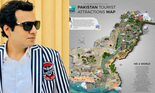 This graphic designer made a tourist attraction map of Pakistan so you can plan your next trip
