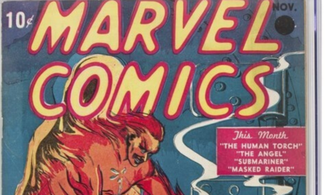 First Marvel Comics issue sells for $1.26 million