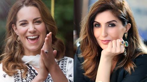 Kate Middleton sent the sweetest thank you note to Elan's Khadija Shah