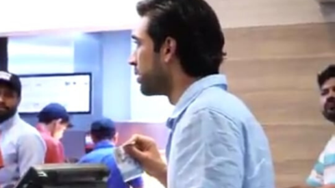 Why was Ali Rehman Khan yelling at a McDonald's employee?