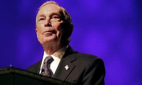Potential US presidential candidate Bloomberg buys record amount of TV ads