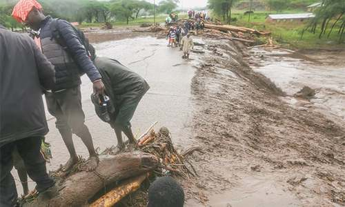 East Africa storms kill 39 in Kenya and Tanzania