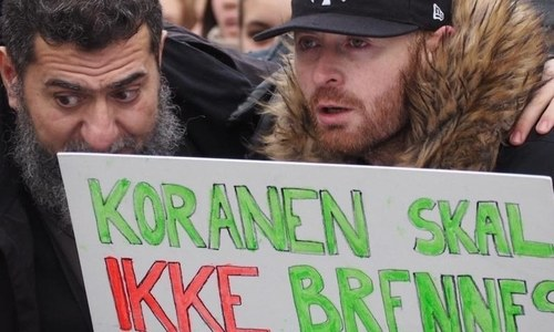 Norway's Kristiansand comes together to stand with Muslims in wake of hate crime