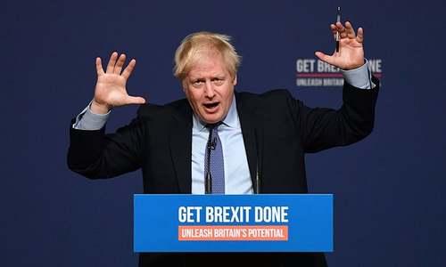 UK's Johnson promises Brexit for Christmas in election manifesto