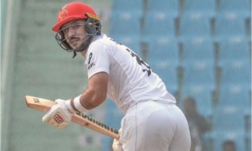 Giant Cornwall triggers Afghanistan collapse in one-off Test