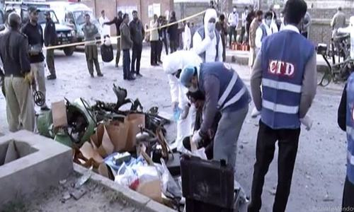 10 injured in rickshaw blast in Lahore's Chauburji area