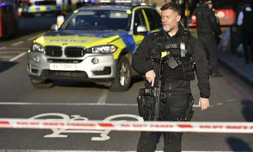Police shoot dead man who killed two in London stabbing, call it terrorist attack