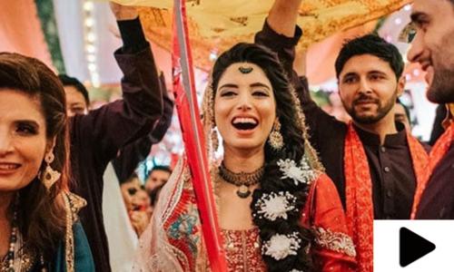 زینب عباس کی اپنی شادی میں اسپورٹس انٹری کی ویڈیو وائرل