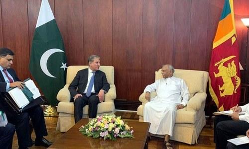 ملاقات باہمی تعلقات اور باہمی مفادات کے امور پر تبادلہ خیال کیا گیا —فوٹو: ریڈیو پاکستان