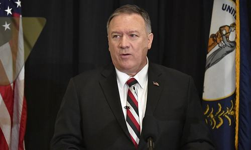 Pompeo says Iran the common villain in Mideast protests