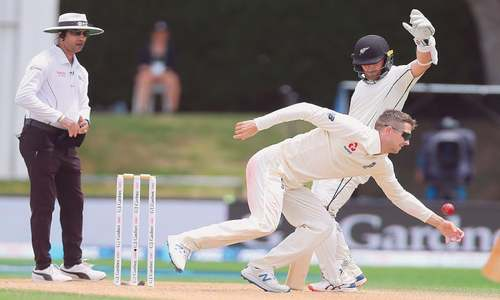 Taylor, Williamson shine as NZ win series after drawn Test