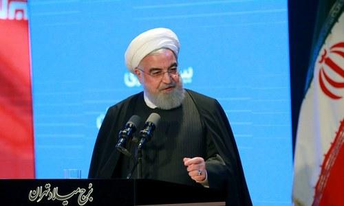 ایران نے امریکا سے مذاکرات کے دروازے بند نہیں کیے، حسن روحانی