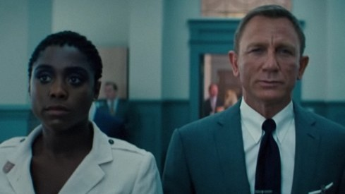 James Bond meets female 007 in first No Time to Die trailer