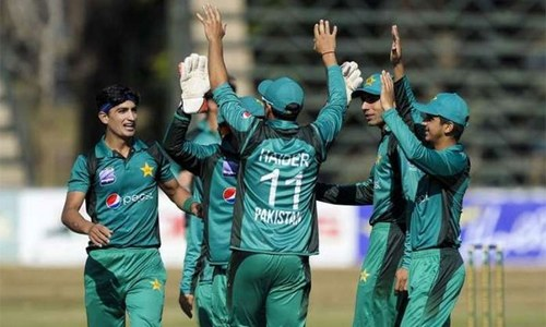 انڈر 19 ورلڈ کپ کیلئے پاکستانی اسکواڈ کا اعلان، نسیم شاہ بھی شامل