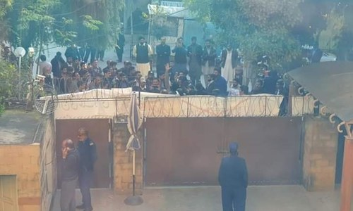 ڈان دفاتر کا گھیراؤ: سینیٹ کمیٹی کی اسلام آباد پولیس کو تحقیقات کی ہدایت